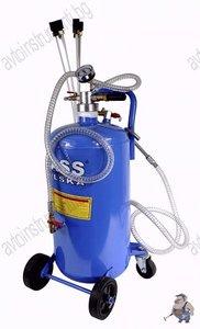 Пневматична масларка за изсмукване на отработени масла 10 литра